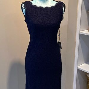 Beautiful navy lace dress. NWT